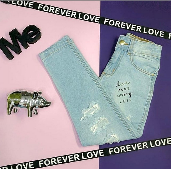 Calça Jeans Love