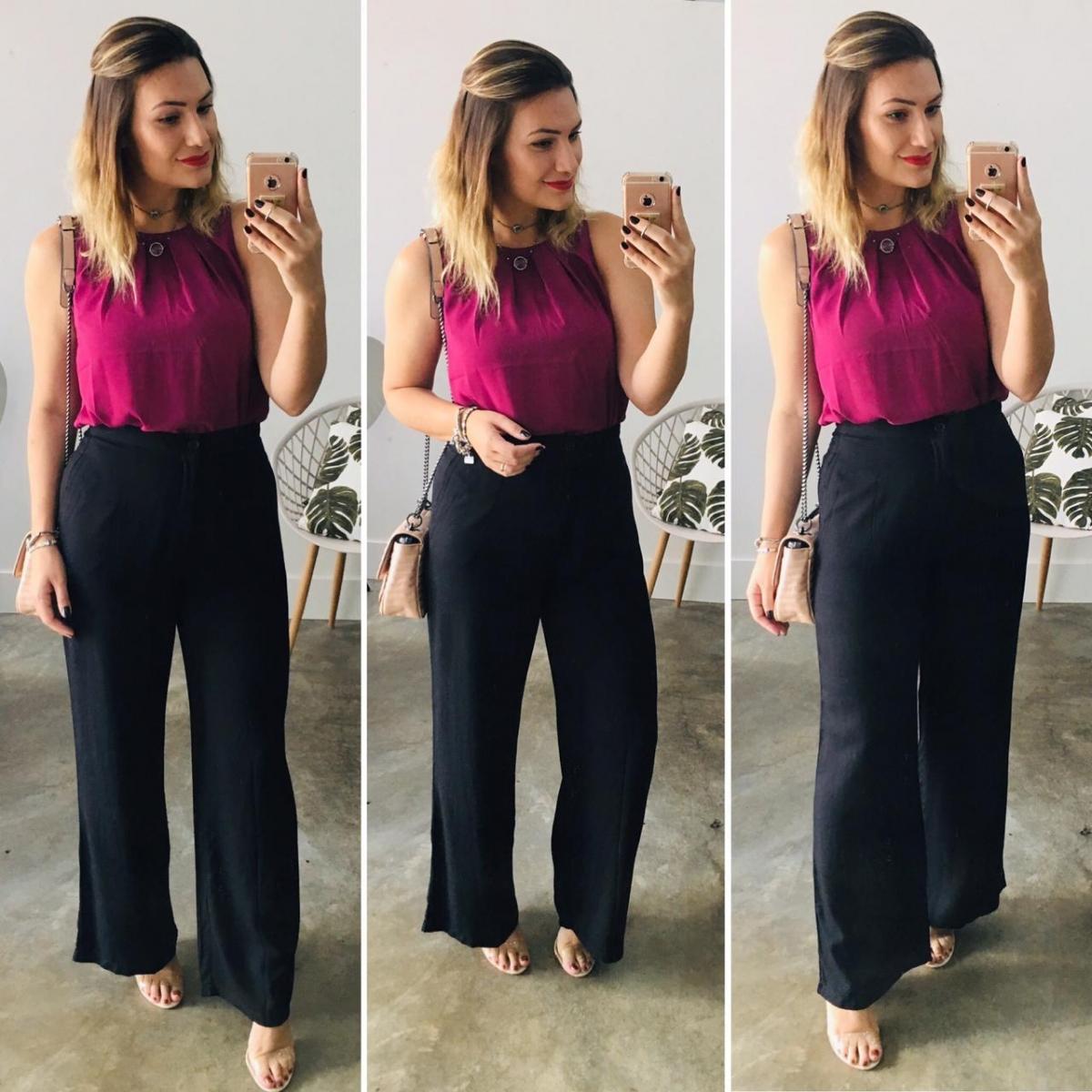 Calça Pantalona Livia