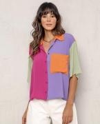 Camisa MC Multicolorido