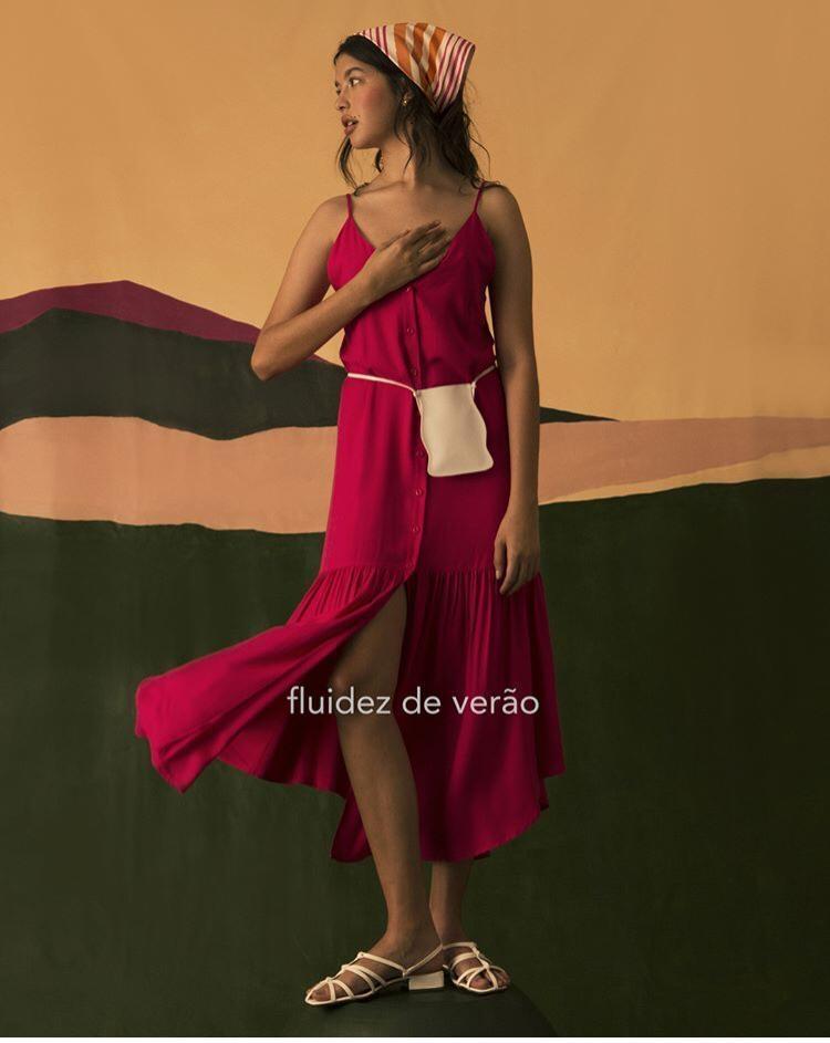 Vestido Babado Saia